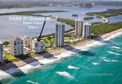 Singer Island Condo For Sale: 5480 Ocean Drive #A3c