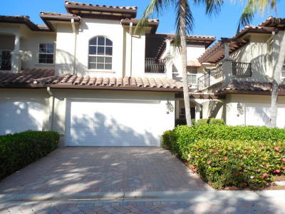 Palm Beach Gardens Townhouse For Sale: 61 Marina Gardens Drive