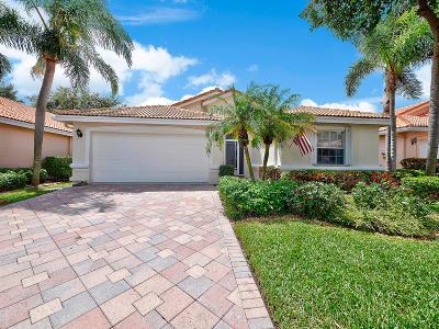 Boynton Beach Single Family Home Contingent: 7262 Modena Drive