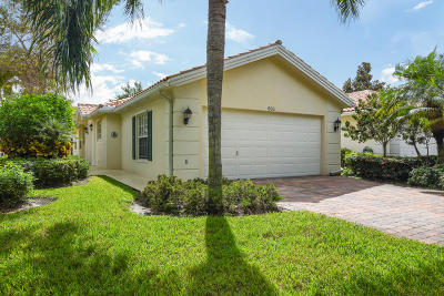Palm Beach Gardens Single Family Home For Sale: 633 Hudson Bay Drive