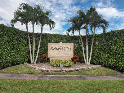 Delray Beach Single Family Home For Sale: 6277 Overland Place