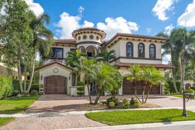 Boca Raton Single Family Home For Sale: 17682 Middlebrook Way
