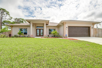 Port Saint Lucie Single Family Home For Sale: 4241 SW Karluk Drive