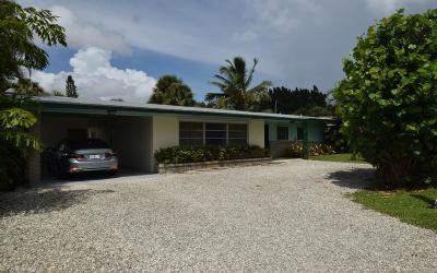 Jensen Beach Single Family Home For Sale: 1644 NE Arch Avenue