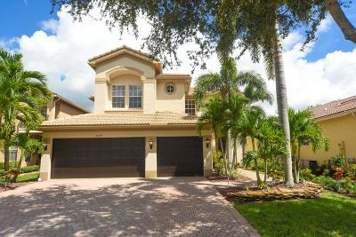 Boynton Beach Single Family Home For Sale: 8579 Woodgrove Harbor Lane