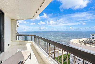 Highland Beach Condo For Sale: 3201 S Ocean Boulevard #Ph-4