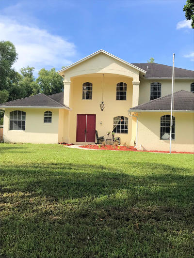 Royal Palm Beach Single Family Home For Sale: 12139 57th Road