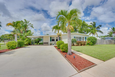 Palm Springs Single Family Home Contingent: 116 Greenbrier Drive