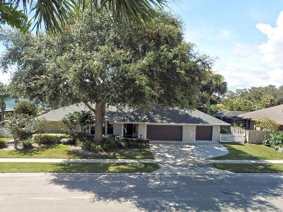 Palm Beach Gardens Single Family Home For Sale: 2424 Palm Harbor Drive
