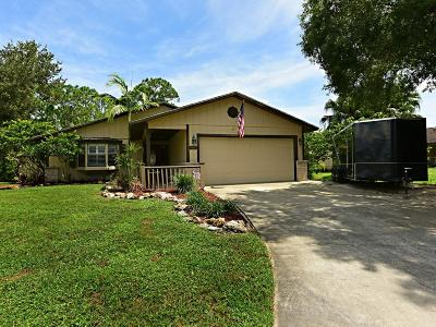 Vero Beach Single Family Home For Sale: 1420 16th Court SW