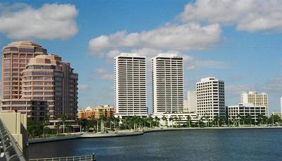 West Palm Beach Rental Leased: 525 S Flagler Drive #8c