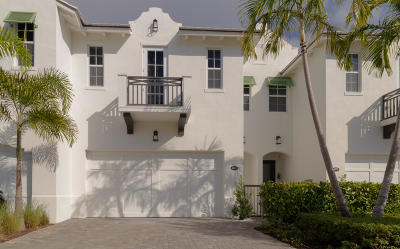 Delray Beach Townhouse For Sale: 1085 Phillips Road