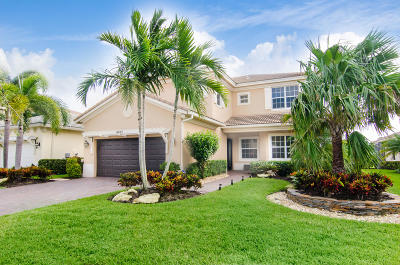 Palm Beach Gardens Rental For Rent: 4933 Pacifico Court