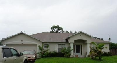 Port Saint Lucie Single Family Home For Sale: 2181 SE Wald Street