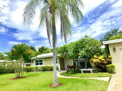 Boca Raton Single Family Home For Sale: 7161 NE 7th Avenue NE