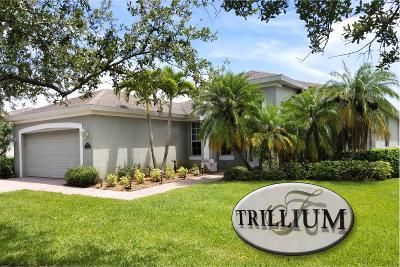 Vero Beach Single Family Home For Sale: 3215 Ashford Square