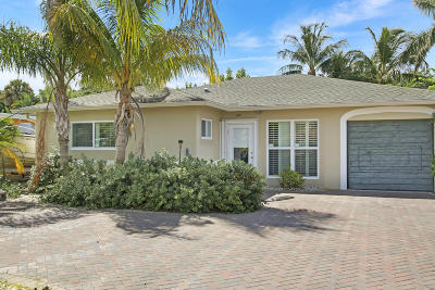 North Palm Beach Single Family Home For Sale: 1820 Pleasant Drive