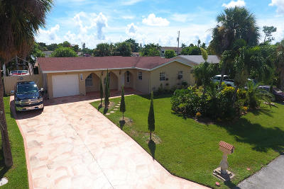 Palm Beach Gardens Single Family Home For Sale: 10144 Flag Drive