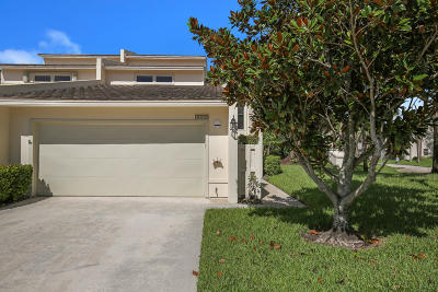 Palm Beach Gardens Townhouse For Sale: 6010 Edgemere Court