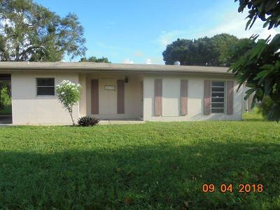 Fort Pierce Single Family Home For Sale: 1020 Trinidad Avenue