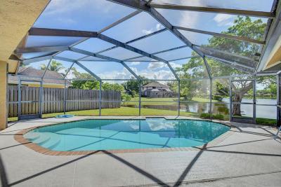 Boca Raton Single Family Home For Sale: 22473 Swordfish Drive