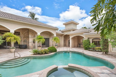 Delray Beach Single Family Home For Sale: 5784 Vintage Oaks Circle