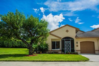 Boca Raton Single Family Home For Sale: 9775 Boca Gardens Circle #A