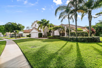 Boca Raton Single Family Home For Sale: 11422 Boca Woods Lane