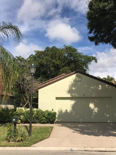 Palm Beach Gardens Single Family Home For Sale: 70 Ironwood Way