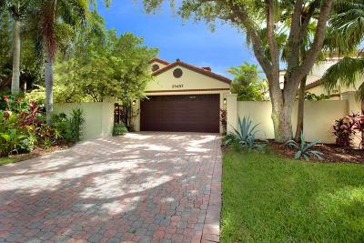 Boca Raton Single Family Home For Sale: 23497 Mirabella Circle S