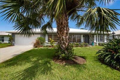 Boynton Beach Single Family Home For Sale: 1401 SW 25th Avenue