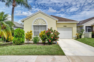 Delray Beach Single Family Home For Sale: 7880 Mansfield Hollow Road