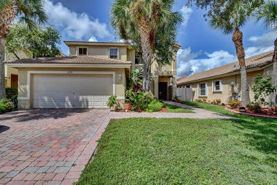 West Palm Beach Single Family Home Contingent: 4155 Torres Circle