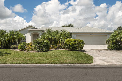 Vero Beach Single Family Home For Sale: 155 36th Court SW
