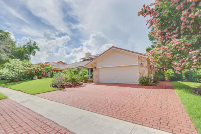 Boca Raton Single Family Home For Sale: 7475 Estrella Circle