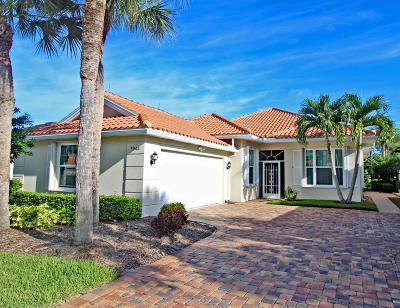 Hobe Sound Single Family Home For Sale: 7944 SE Double Tree Drive