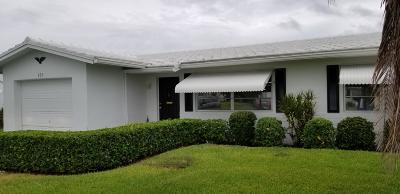Boynton Beach Single Family Home For Sale: 623 SW 21st Circle