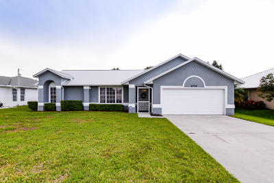 Port Saint Lucie FL Single Family Home Contingent: $269,900