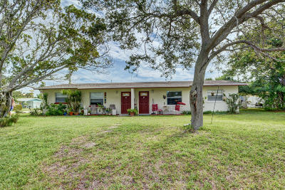 Fort Pierce Multi Family Home For Sale: 202 Balboa Street