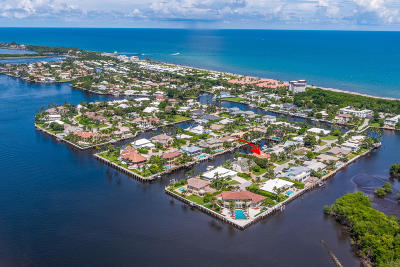 Ocean Ridge Single Family Home For Sale: 12 Inlet Cay Drive