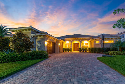 Jupiter Single Family Home For Sale: 340 Rudder Cay Way