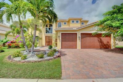 Lake Worth Single Family Home For Sale: 9945 Via Bernini