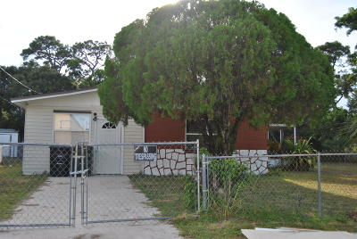 Fort Pierce Single Family Home For Sale: 203 27th Street E