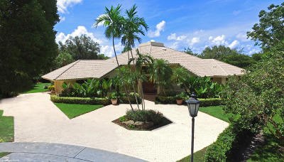 Les Jardins, Les Jardins, Patch Reef Estates Single Family Home For Sale: 2450 NW 24th Court