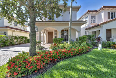Palm Beach Gardens Single Family Home For Sale: 378 Columbus Street