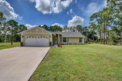 Loxahatchee Single Family Home For Sale: 14042 80th Lane