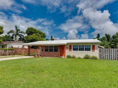 Boynton Beach Single Family Home Contingent: 405 SW 8th Avenue