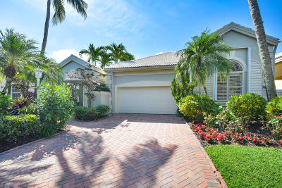 Palm Beach Gardens FL Single Family Home For Sale: $454,000