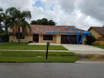 Boynton Beach Single Family Home For Auction: 9961 Majestic Way