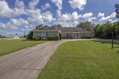 Vero Beach Single Family Home For Sale: 3925 21st Street SW